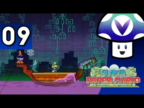 [Vinesauce] Vinny - Super Paper Mario (part 9)
