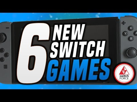 6 COOL NEW Switch Games JUST ANNOUNCED!! (2019 Nintendo Switch Games)