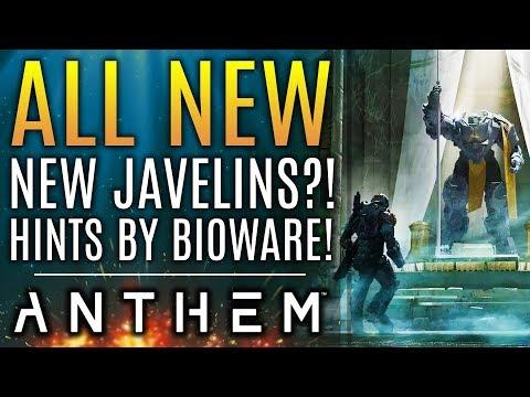 Anthem - NEW INFO! New Javelins