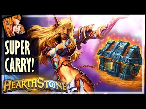 Treasure Chest SUPER-CARRY! - Rastakhan's Rumble Hearthstone