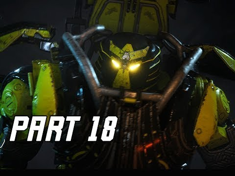 ANTHEM Walkthrough Gameplay Part 18 - Colossus (PC Ultra Let's Play)