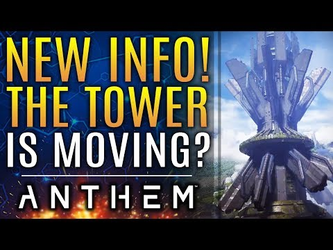 Anthem - BRAND NEW UPDATES! The Tower Is Moving...But Why? Loot Adjustments and More!