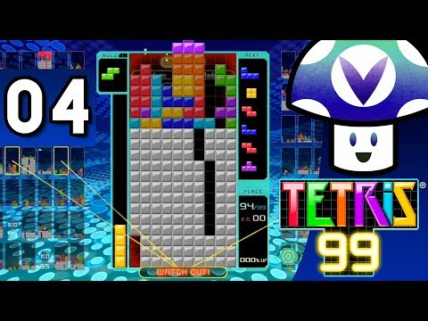 [Vinesauce] Vinny - Tetris 99 (part 4) + Art!