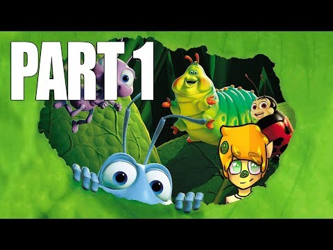 LETS PLAY A BUGS LIFE ON THE PS1 gameplay walkthrough part 1