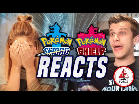 GF REACTS Pokemon Sword and Shield: Starters, Graphics and Indepth Review!