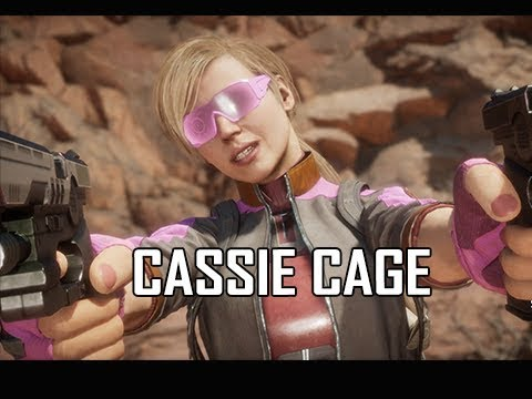 CASSIE CAGE Early Gameplay - Mortal Kombat 11 (MK11)
