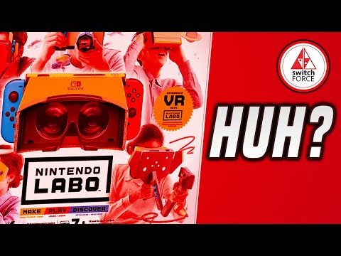 Nintendo ANNOUNCES Labo VR For SWITCH!?