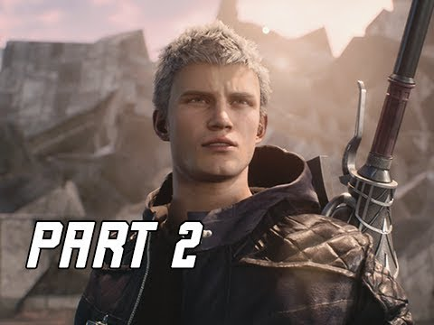 DEVIL MAY CRY 5 Gameplay Walkthrough Part 2 - BOSS ARTEMIS (DMC5 Let's Play Commentary)