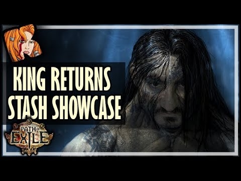 The Old King Returns? Stash Showcase! - Path of Exile
