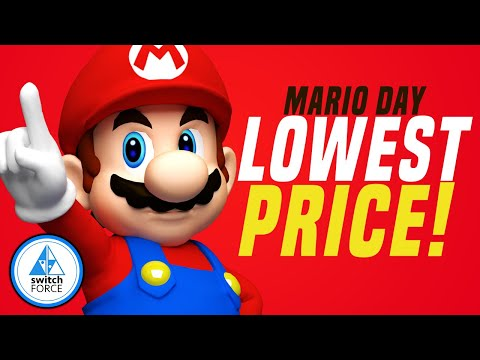 Nintendo's HUGE Switch Sale On The Best Switch Games For Mario Day!