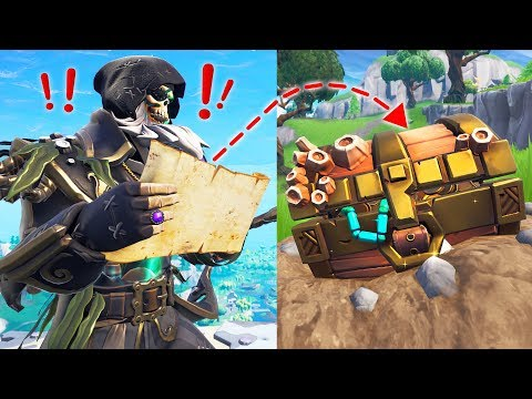 Finding SECRET TREASURE in Fortnite! // Pro Fortnite Player // 2000 Wins (Fortnite Battle Royale)