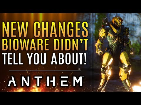 Anthem - Bioware Didn't Tell You About These Changes Made By The New Patch