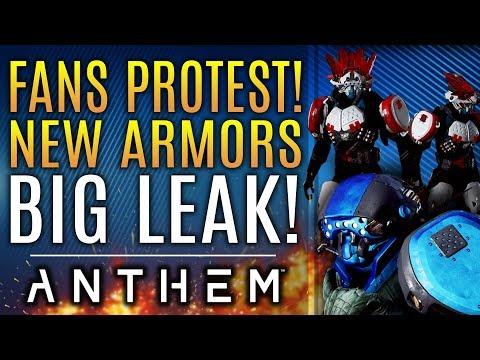 Anthem - Massive Fan Protest!  NEW ARMOR Leaks!  Brand New Updates!