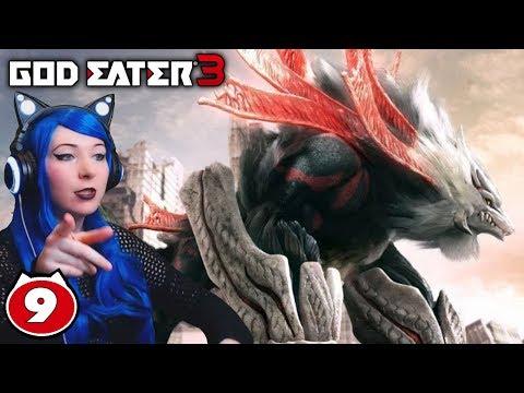IS THAT ZINOGRE?! MARDUK BOSS! - God Eater 3 PS4 Walkthrough Gameplay Part 9