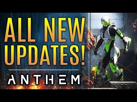 Anthem - ALL NEW UPDATES!  Loot Nerf Updates! Masterwork Ember Changes! Bioware Responds!