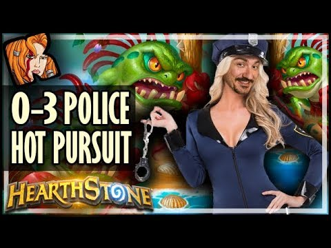 The 0-3 Police Is In Hot Pursuit! - Rastakhan's Rumble Hearthstone