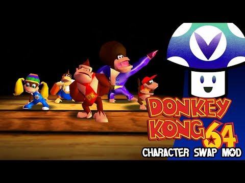 [Vinesauce] Vinny - Donkey Kong 64: Character Swap Mod