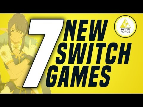 7 FUN NEW Switch Games Just Announced! (New Nintendo Switch Games 2019)