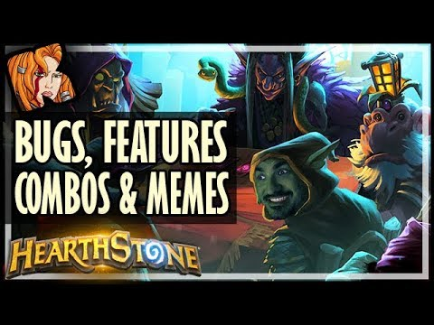 NEW Patch LIVE: Bugs, Features, Combos & Memes! - Rise of Shadows Hearthstone