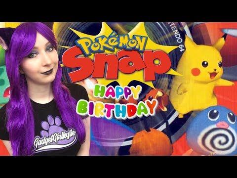 IT'S MY BIRTHDAY! - Pokemon Snap CHILL BIRTHDAY LIVE STREAM