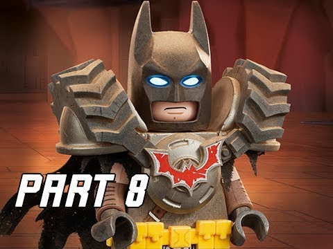LEGO MOVIE 2 Gameplay Walkthrough Part 8 - BATMAN (Video Game Let's Play)
