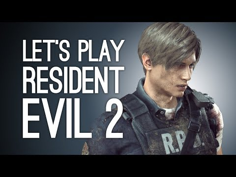 Let's Play Resident Evil 2: SEWER ROMANCE! Episode 7