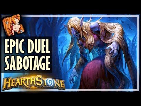 EPIC. SABOTAGE. DUEL. - Autocomplete Challenge - Hearthstone