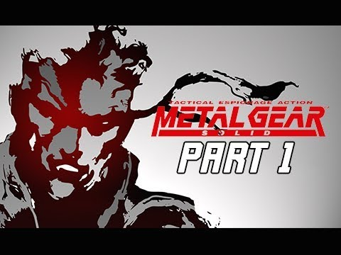 METAL GEAR SOLID Gameplay Walkthrough Part 1 - Solid Snake (RETRO PSX Classic)