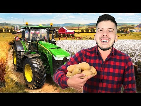 I'M A FARMER!! (Farming Simulator 2019, Episode 1)