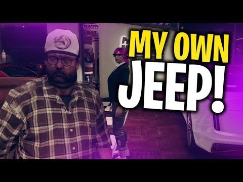 BUYING MY OWN JEEP!! I GET INTO A FIGHT?! | GTA V RP Ep.2 - TimTheTatMan