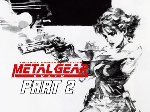 METAL GEAR SOLID Gameplay Walkthrough Part 2 - Meryl Silverburgh (RETRO PSX Classic)