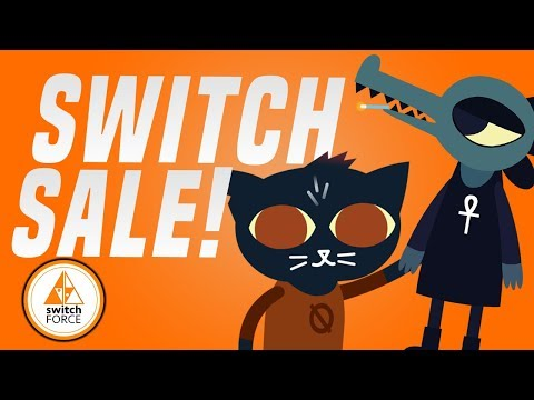 BIG Switch Sale on Nintendo eShop Games!