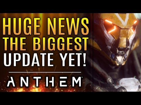 Anthem - Huge News Update! Apex Bosses in Legendary Missions! Javelin Changes! Elysium Chests!