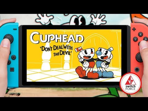 Cuphead Switch Gameplay: How Does it Run? + Handheld Mode - Best Port Yet?!