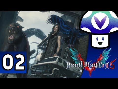 [Vinesauce] Vinny - Devil May Cry 5 (part 2)