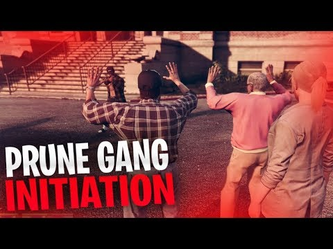 PRUNE GANG INITIATION GOES HORRIBLY WRONG!! | GTA V RP Ep.3 - TimTheTatMan