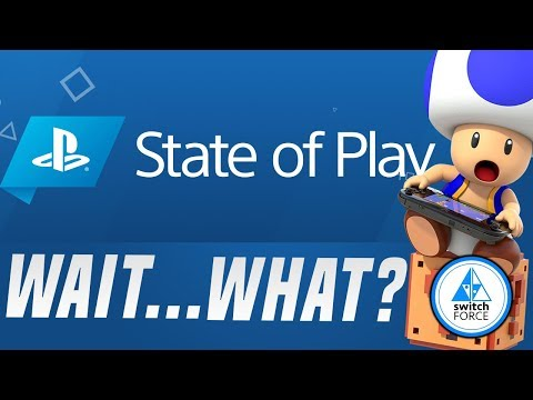 Nintendo Direct Style Event ANNOUNCED... Sony Playstation State of Play Next Week!