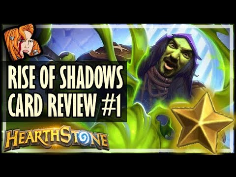 RISE OF SHADOWS CARD REVIEW #1 - Kripp ⭐ Ratings - Hearthstone