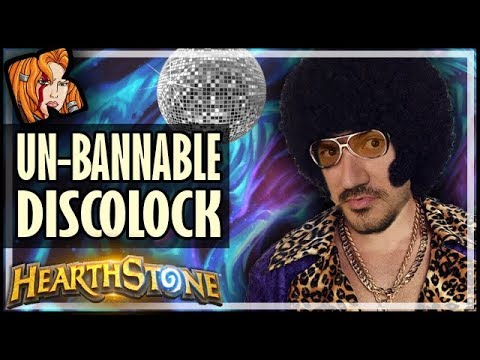 THE INSANE UN-BANNABLE DISCOLOCK - Hearthstone Tavern Brawl