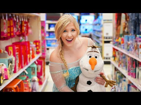 I Spent 24 Hours As Elsa in Public Challenge