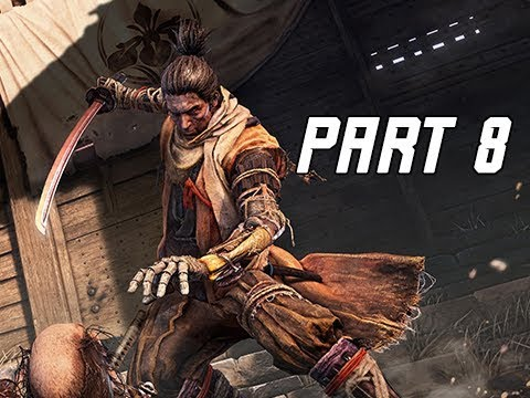 SEKIRO SHADOWS DIE TWICE Walkthrough Part 8 - Ashina Castle (Let's Play Commentary)