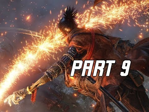 SEKIRO SHADOWS DIE TWICE Walkthrough Part 9 - Blazing Bull (Let's Play Commentary)