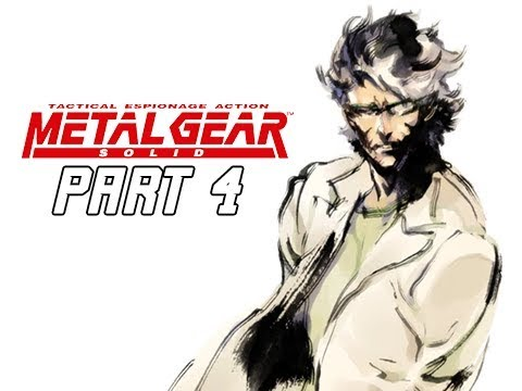 METAL GEAR SOLID Gameplay Walkthrough Part 4 - Hal Emmerich (RETRO PSX Classic)