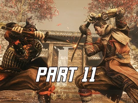 SEKIRO SHADOWS DIE TWICE Walkthrough Part 11 - Ashina Castle (Let's Play Commentary)