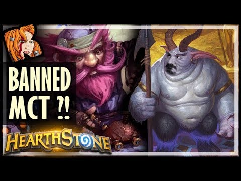 FIRST BANNED MCT IN THREE MONTHS! - Rastakhan's Rumble Hearthstone