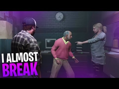 WE ALMOST ALL BROKE CHARACTER... FUNNIEST ROLEPLAY EVER!! GTA V RP Ep.4 - TimTheTatMan