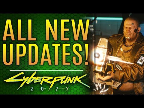 Cyberpunk 2077 - ALL NEW UPDATES! CD Projekt RED Avoids Disaster!  Future Projects!