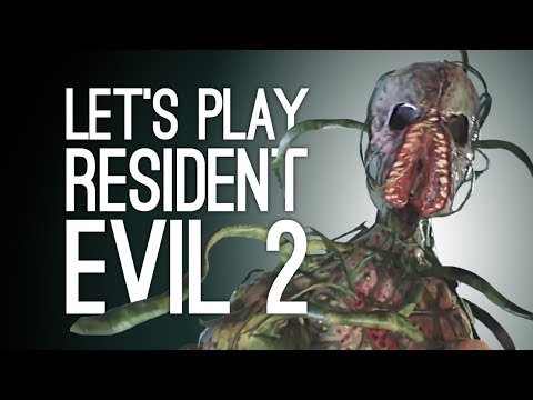 Let's Play Resident Evil 2: PLANT ZOMBIES? 🌱Episode 8