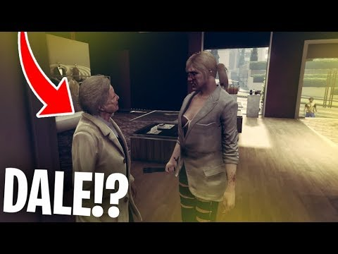 DALE TURNS INTO A WOMAN?!! WHAT IS HAPPENING!! GTA V RP Ep.5 - TimTheTatMan