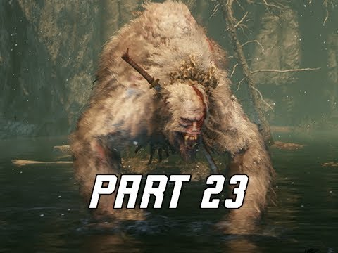 BOSS GUARDIAN APE - SEKIRO SHADOWS DIE TWICE Walkthrough Part 23 (Let's Play Commentary)